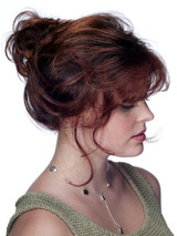 Jon Renau Jessica synthetic classic cap wig side view 2
