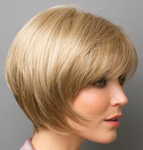 Audrey synthetic wig by Rene of Paris side view 3