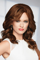 Raquel Welch wig Knockout Human Hair Front View
