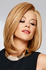 Raquel Welch wig Bravo Human Hair Front View