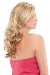Adriana Smartlace Synthetic Hand tied monotop Wig By Jon Renau Side View #3