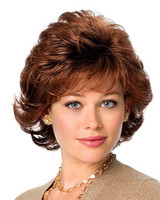 gabor synthetic wig affluence front view