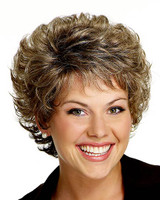 gabor synthetic wig precedence front view