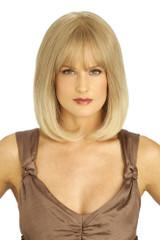 Louis Ferre PC108 Platinum Human Hair Wig Front