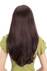 Louis Ferre Diamond  Monotop Human Hair Wig Back View