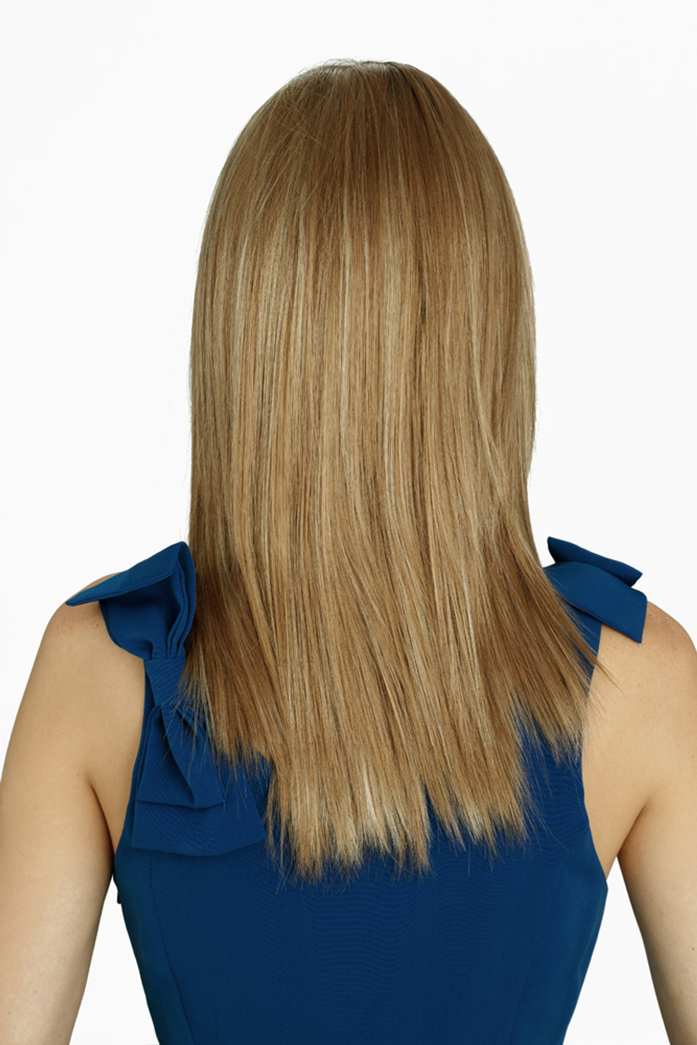 Louis Ferre Manhattan Soiree Monosystem Lace Front Wig Back View