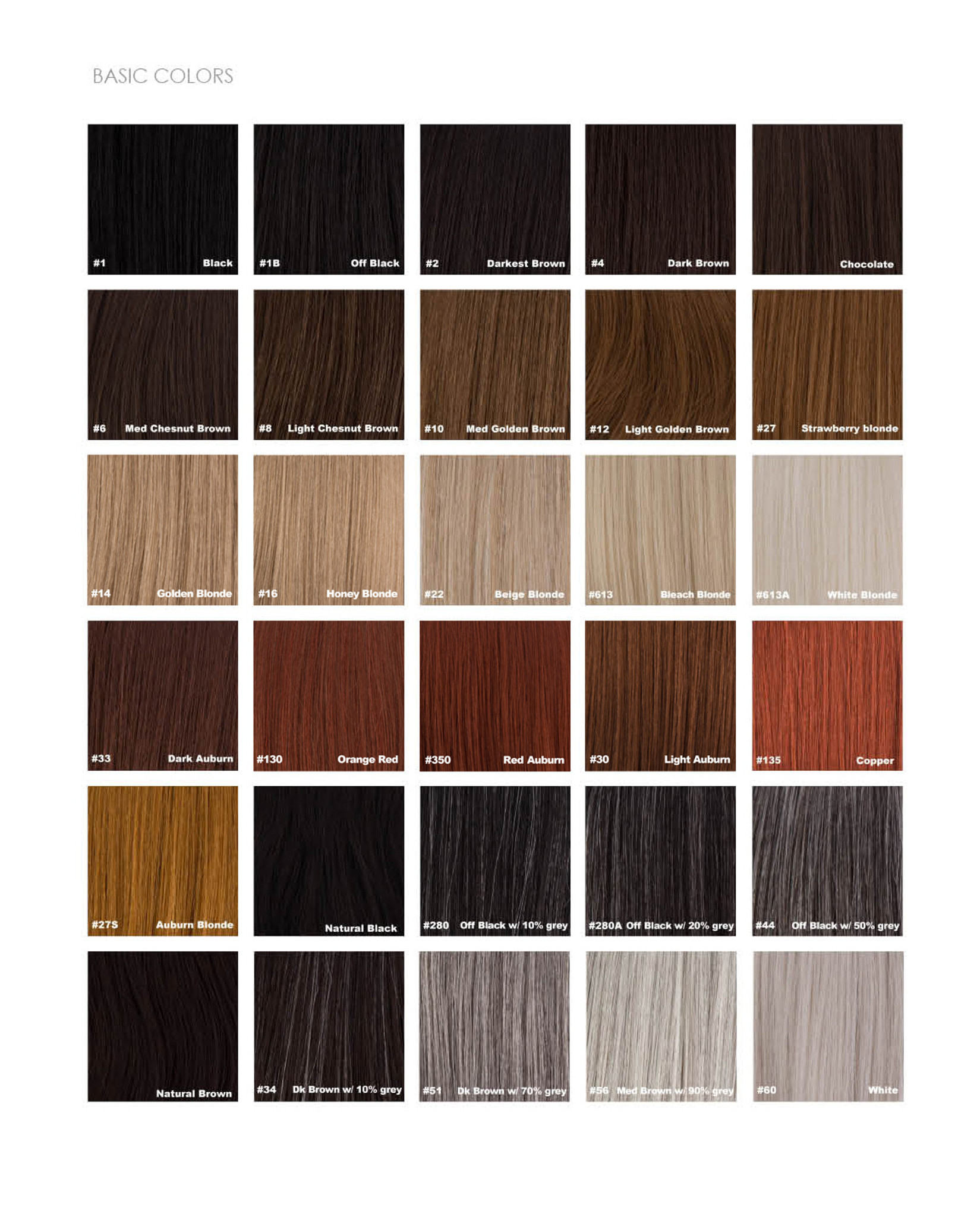 sepia color chart 1
