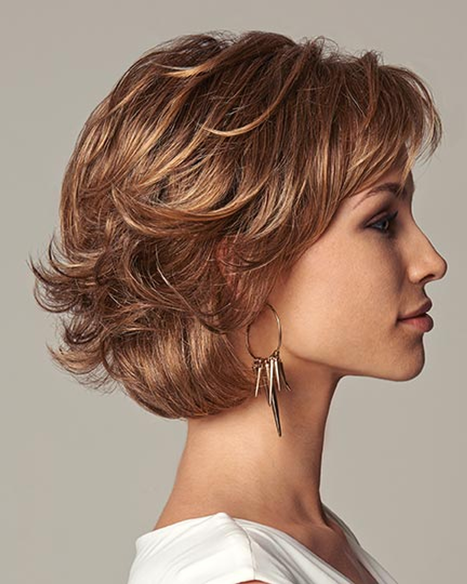 Everyday Elegant Synthetic Hair by Gabor Wigs side 2