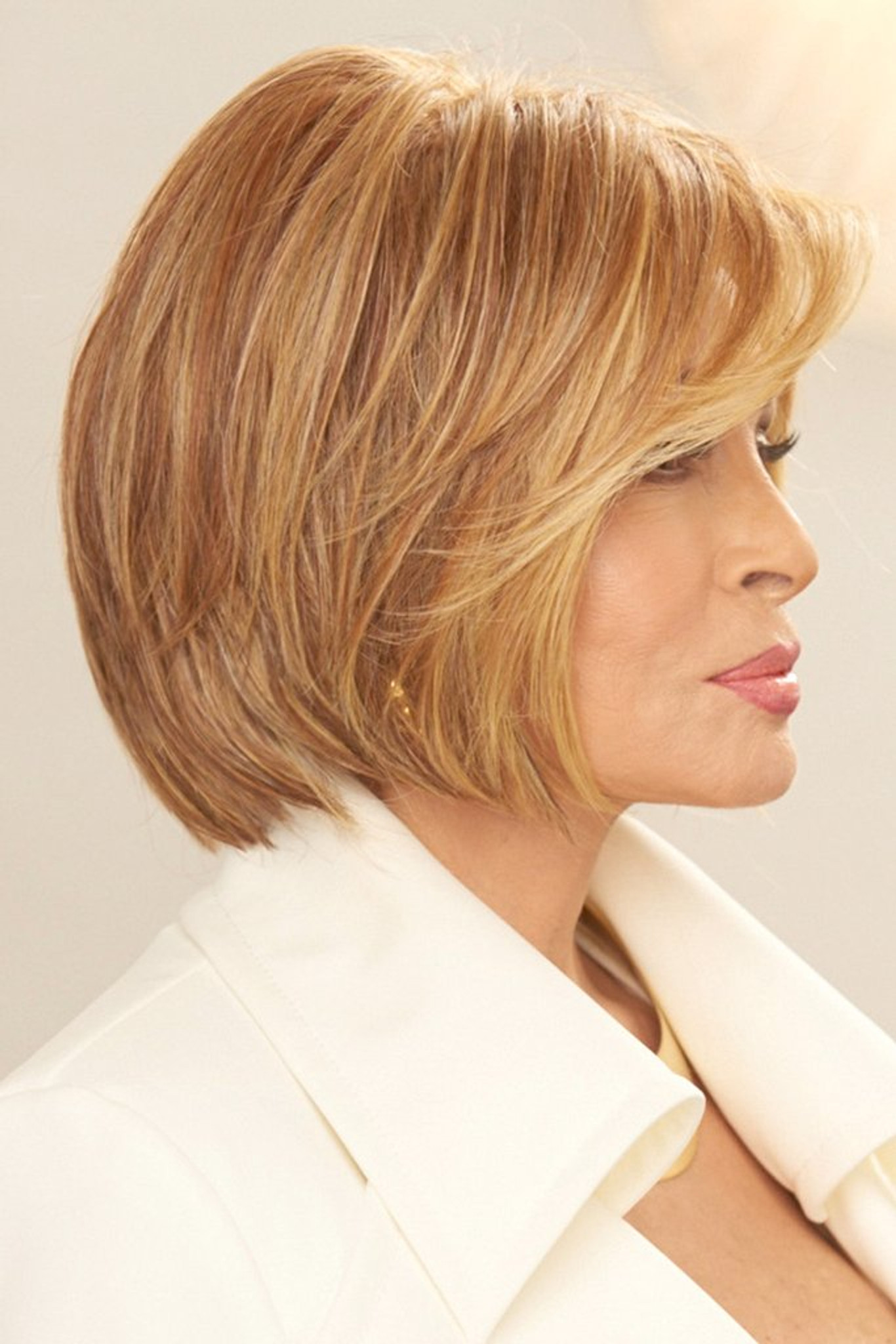 Straight Up with a Twist Raquel Welch Wigs Right Side View