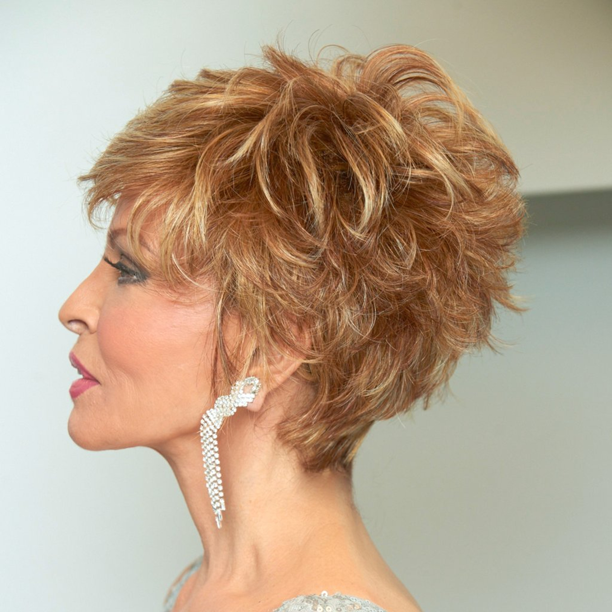Sparkle Elite by Raquel Welch Wigs Side View
