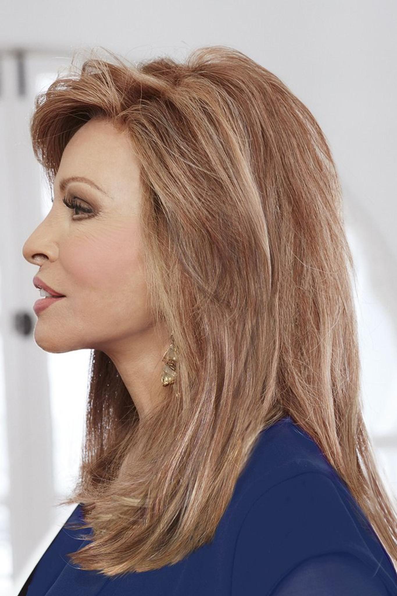 High Fashion Raquel Welch Wigs Side View