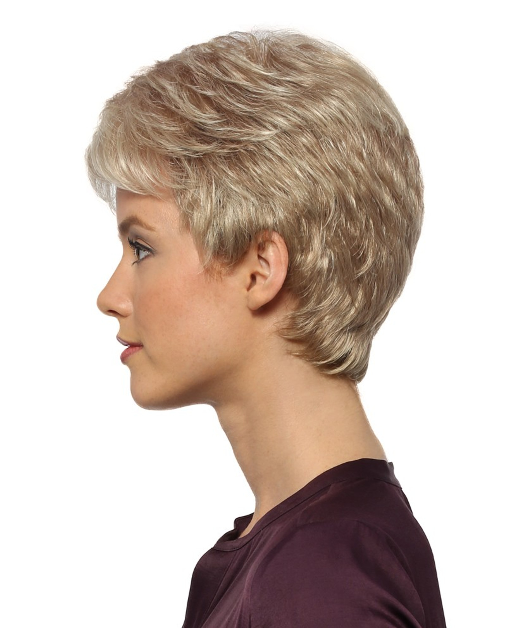 Petite Coby by Estetica Wigs Side View