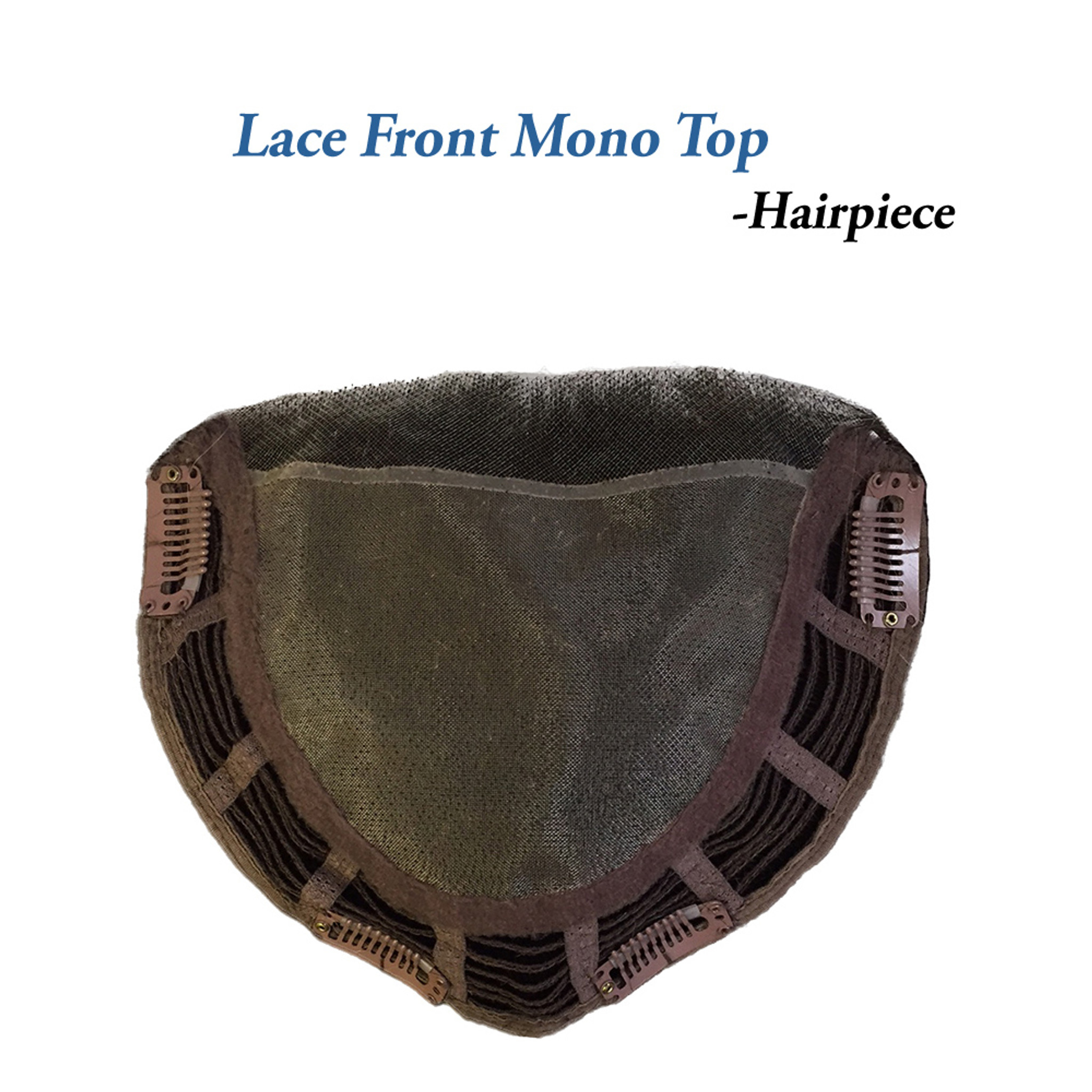Biscotti Babe - Belle Tress - monofilament lace front  cap style