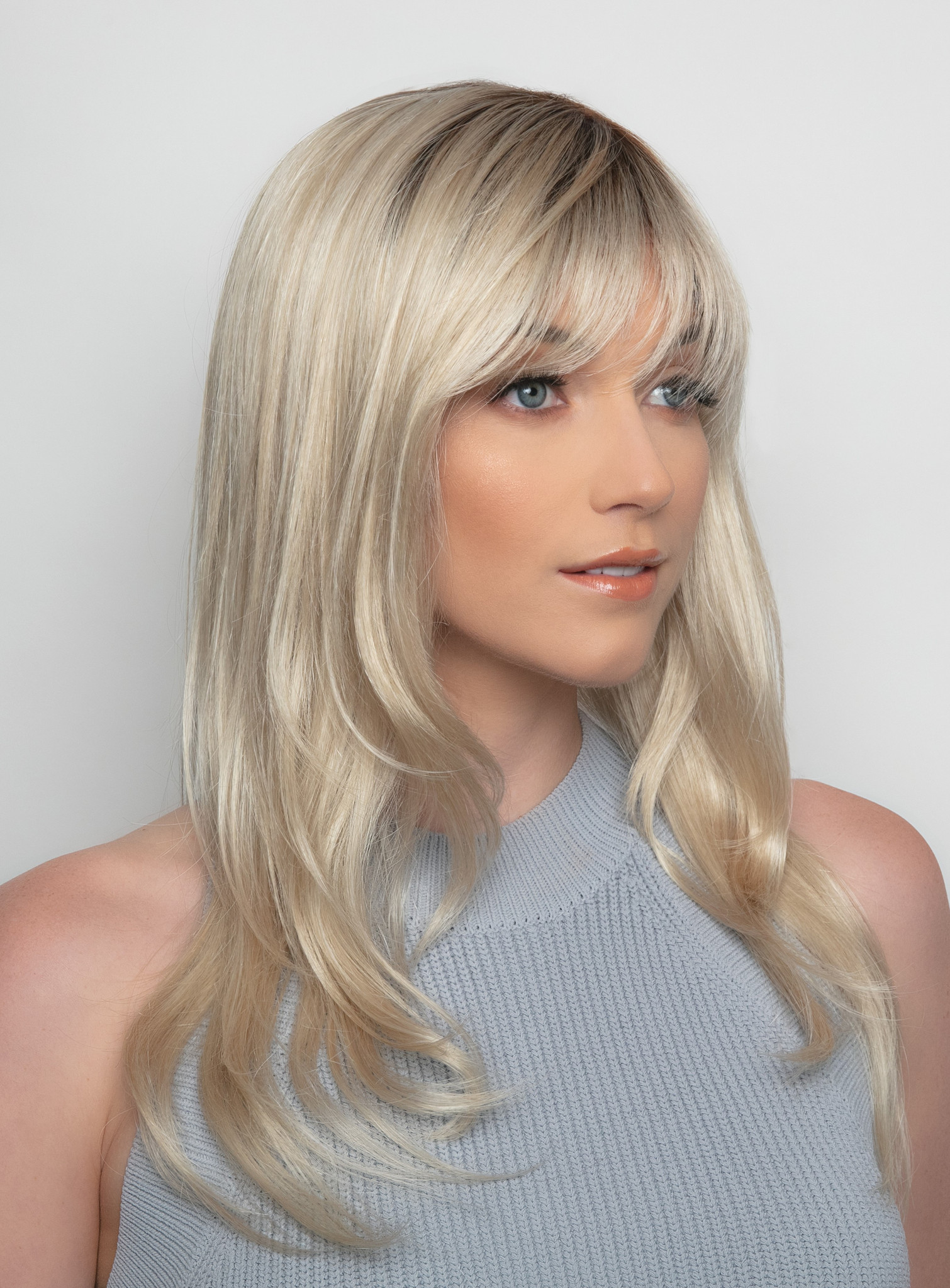 Angela |  Alexander Couture Wig Collection side view
