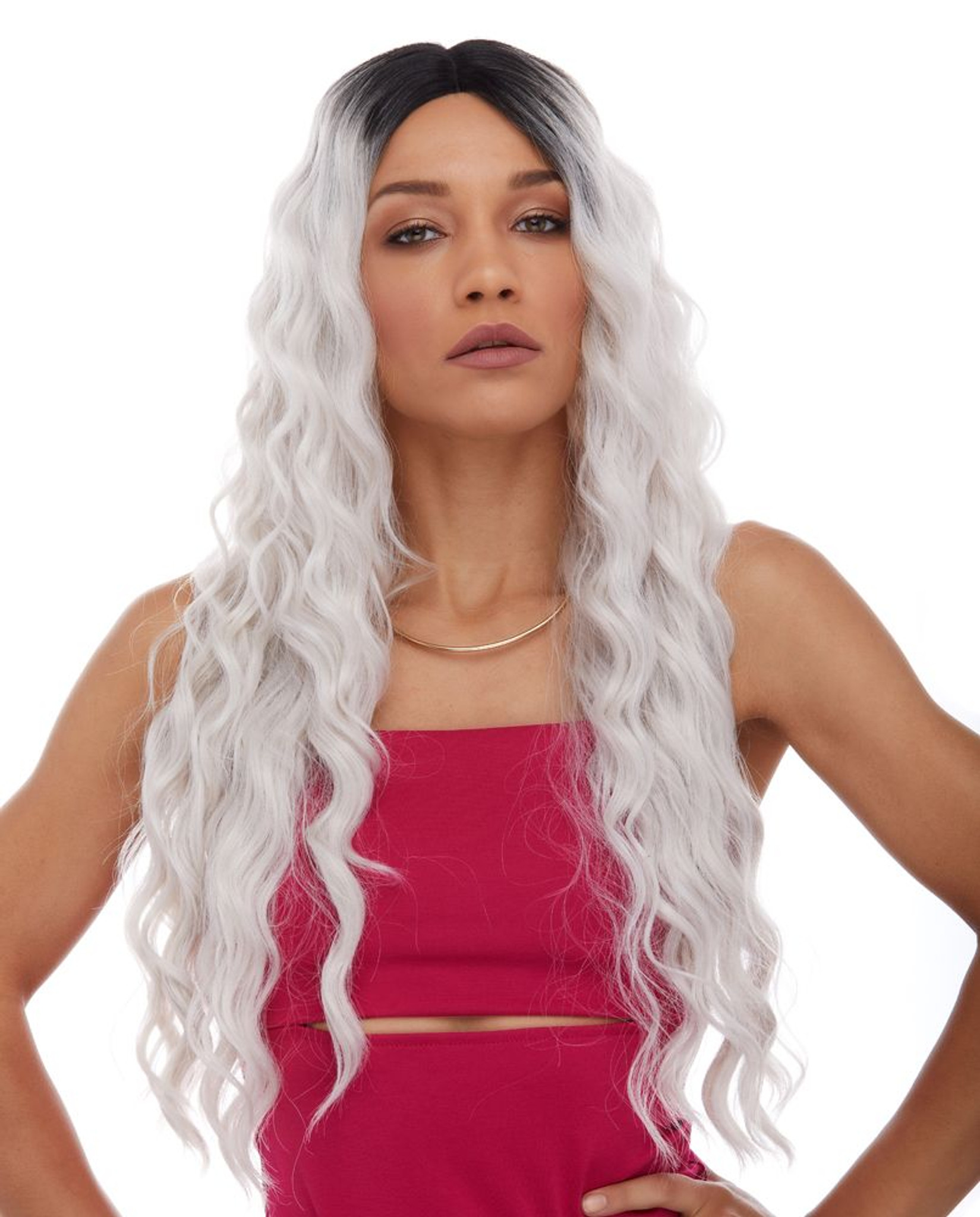 Celestial | Sepia Wigs | Lace Front  front view 2