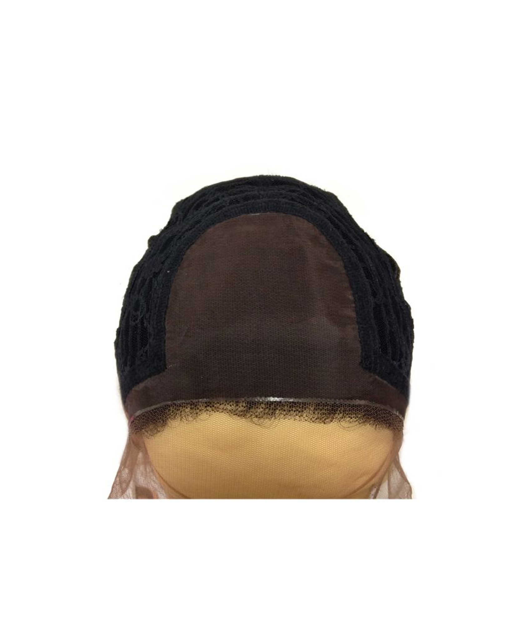 Evelyn | Sepia | Lace Front  | cap view