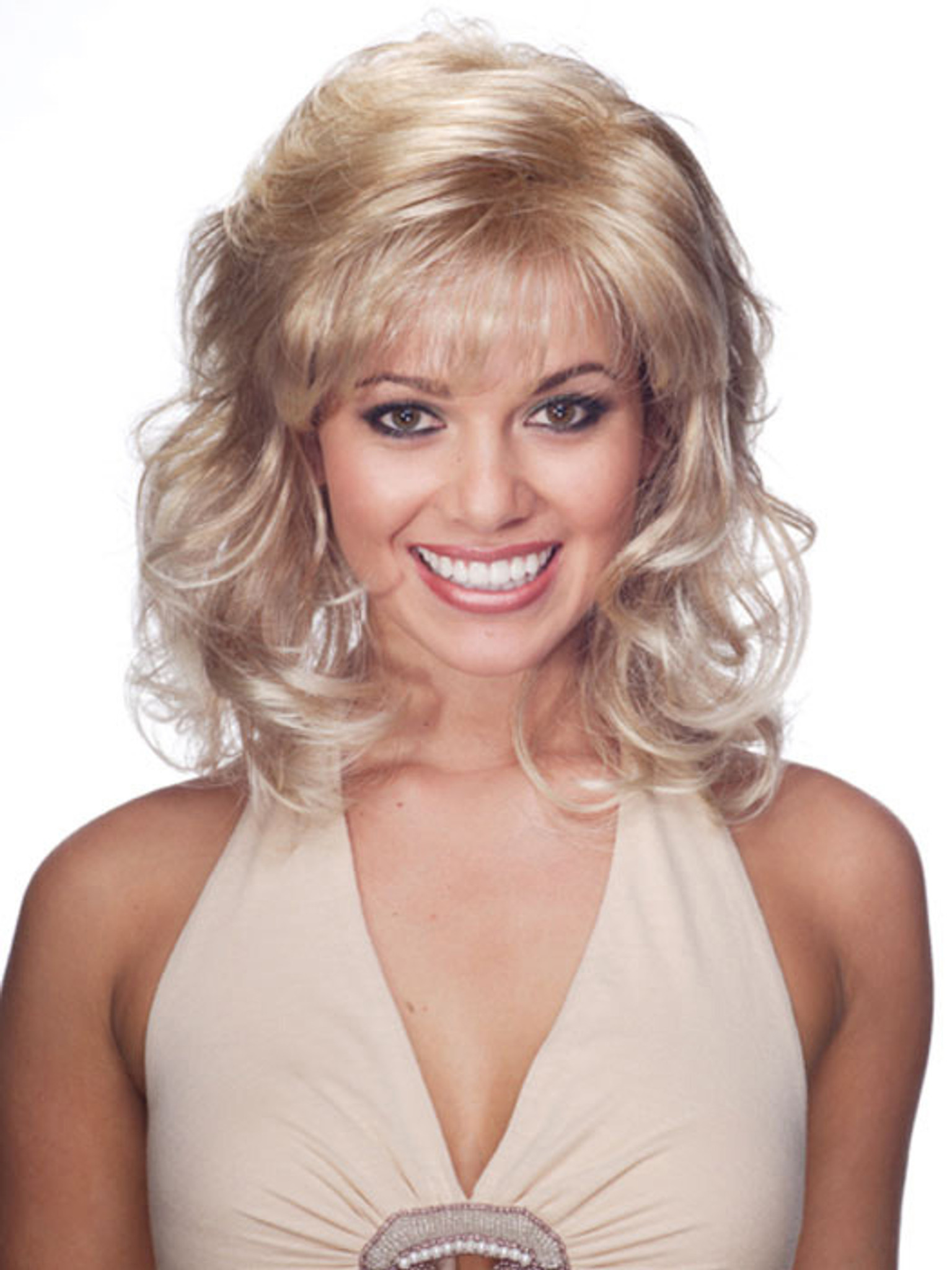 Jon Renau Jessica synthetic classic cap wig front view 4