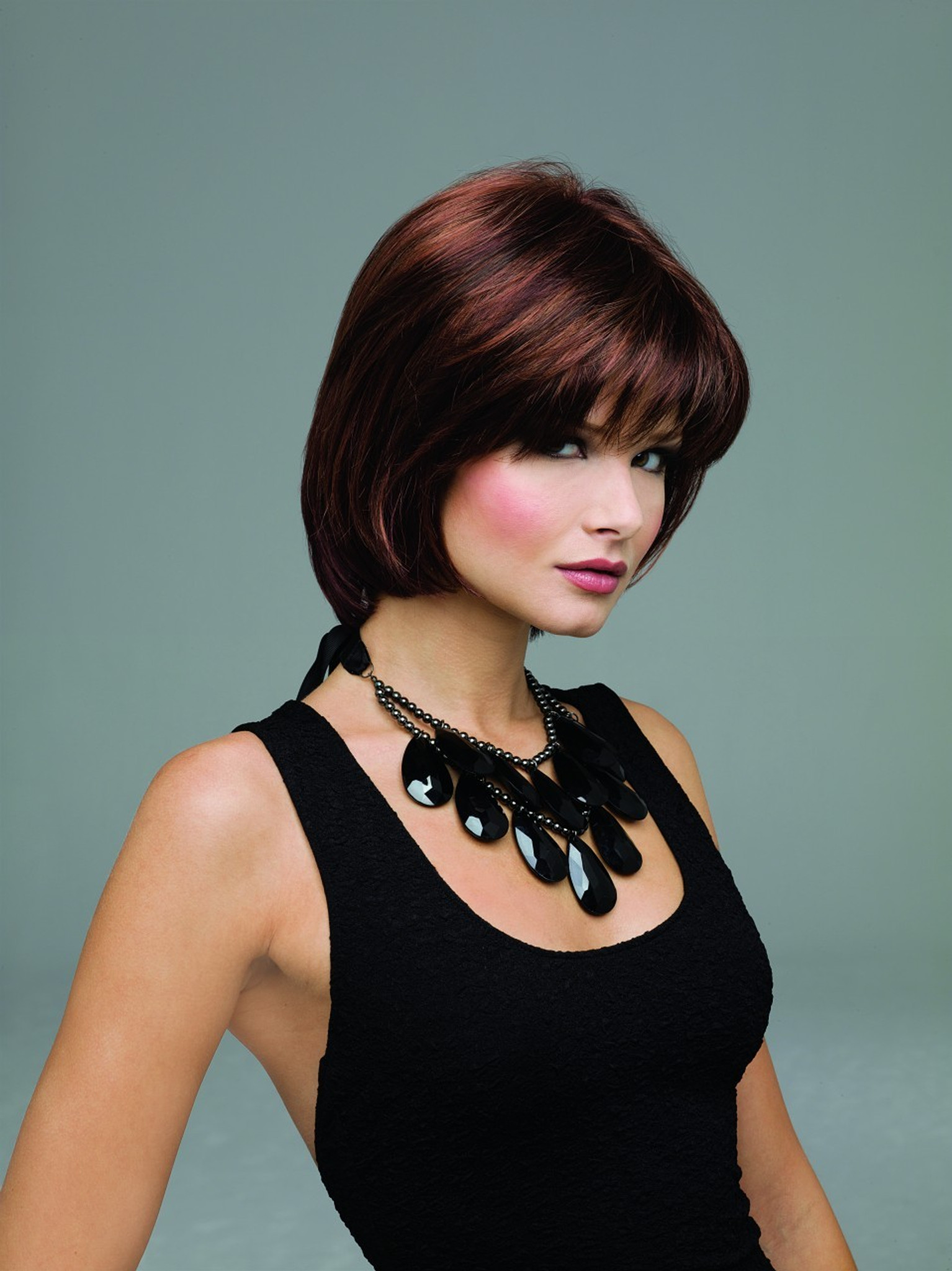 Envy Wigs Haley monopart synthetic front view