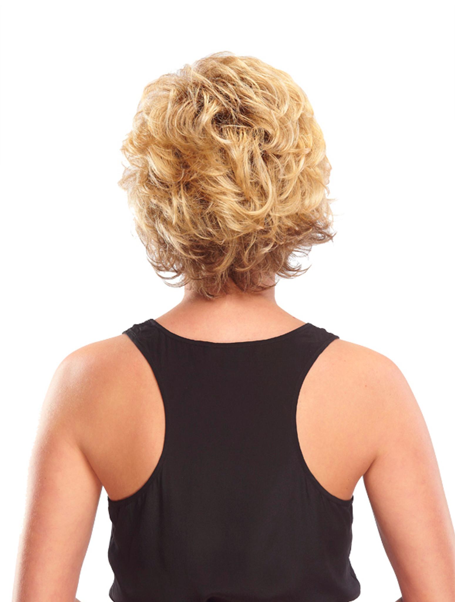 Jon Renau Bianca Synthetic classic cap wig back view