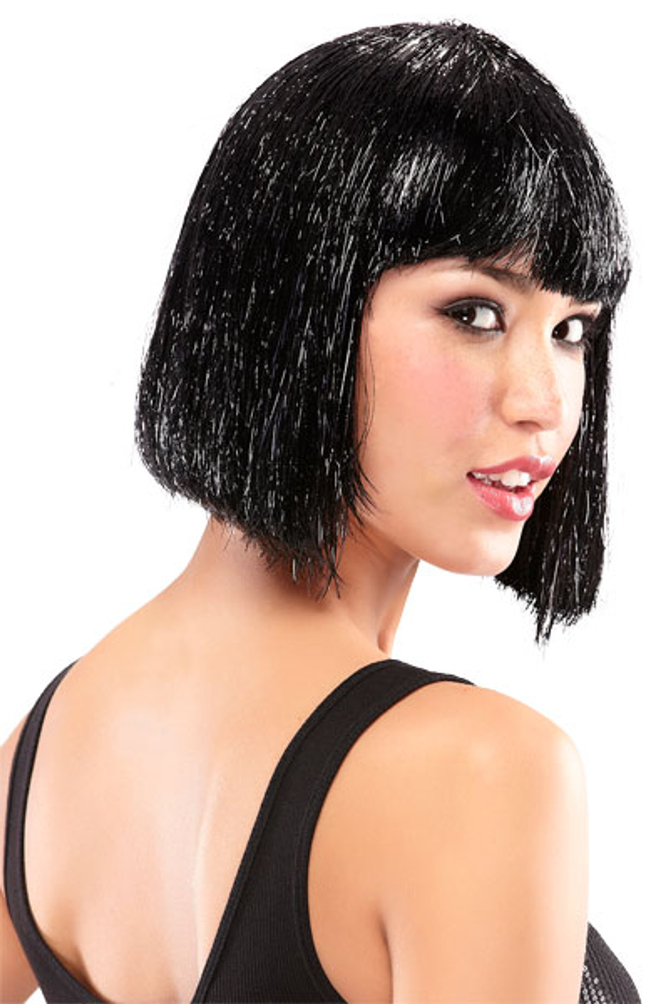 Jon Renau Tinsel Town wig Illusions Costume Wigs side view