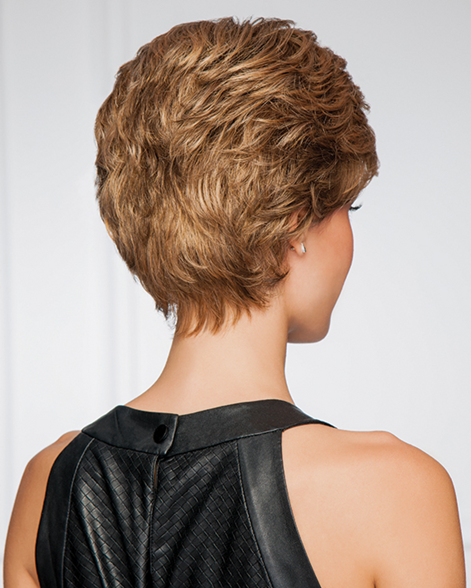 gabor synthetic wig upper cut point  back  view