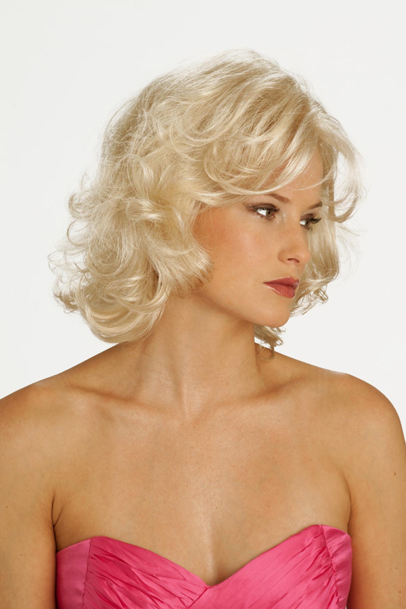 Louis Ferre Glamour New York Fashion Wig side