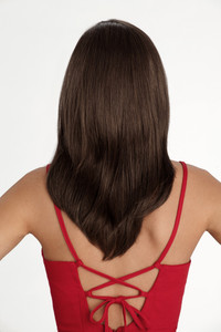 Louis Ferre SoHo Chic  Monosystem Lace Front Wig back view