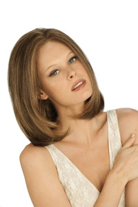 Louis Ferre Madison Gem Monosystem Lace Front Wig front view