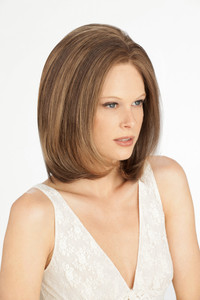 Louis Ferre Madison Gem Monosystem Lace Front Wig front view 2