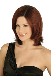 Louis Ferre Gramercy Rose Monosystem Lace Front Wig front view