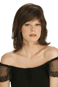 Louis Ferre Broadway Gala  Monosystem Lace Front Wig front view