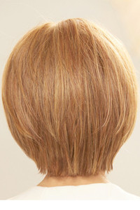 Straight Up with a Twist Raquel Welch Wigs Back View