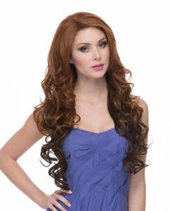 Sasha Sepia Wigs Front View 2