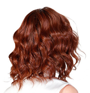 Biscotti Babe - Belle Tress - monofilament lace front back