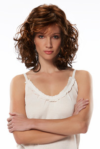 Jon Renau Jessica synthetic classic cap wig front view 1