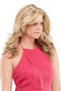 Adriana Smartlace Synthetic Hand tied monotop Wig By Jon Renau Front View #5