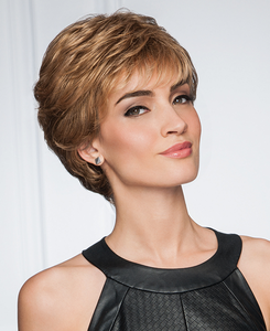 gabor synthetic wig upper cut point  front  view 2