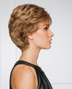 gabor synthetic wig upper cut point  side  view 2