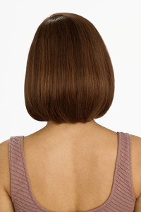 Louis Ferre PC107 Platinum Human Hair Wig back