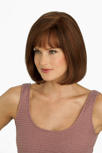 Louis Ferre PC107 Platinum Human Hair Wig side