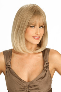 Louis Ferre PC108 Platinum Human Hair Wig Side