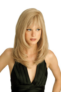 Louis Ferre Amber  Monotop Human Hair Wig front view