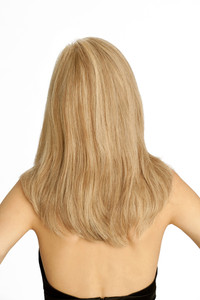 Louis Ferre Amber  Monotop Human Hair Wig back view