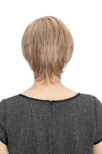 Louis Ferre Sapphire Monotop Human Hair Wig back