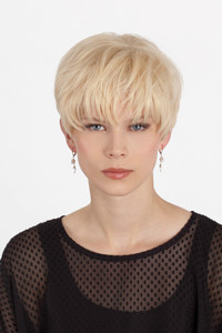 Louis Ferre Crystal  Monotop Human Hair Wig front