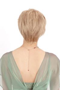 Louis Ferre Emerald Human Hair Wig back