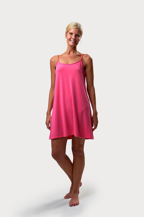 Cami Style Nightgown - Pink