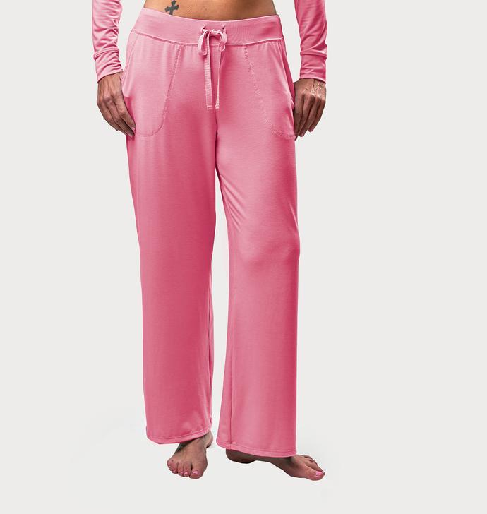 Drawstring Pants - Pink