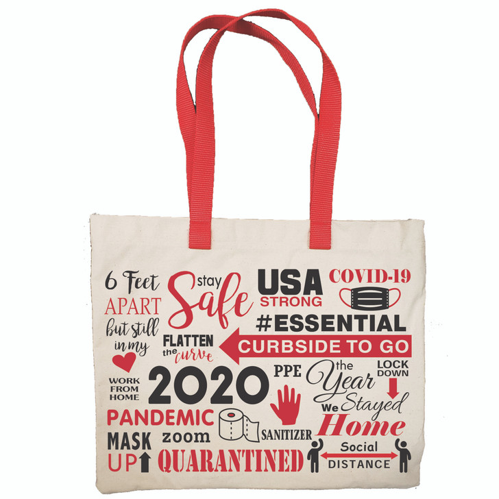 2020 Year-in-Review Tote Bags