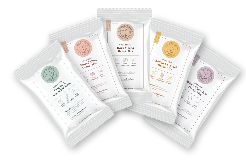 5 Sparrows Sugar Free Drink Mix Sample Pack.  Free with $5 Shipping.